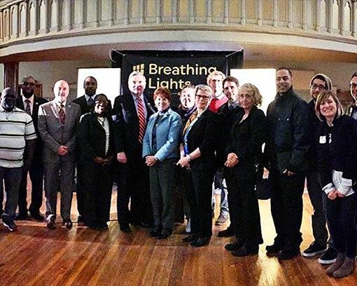 breathing lights kick off meeting