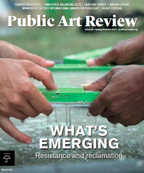 public art review magazine forecast public art