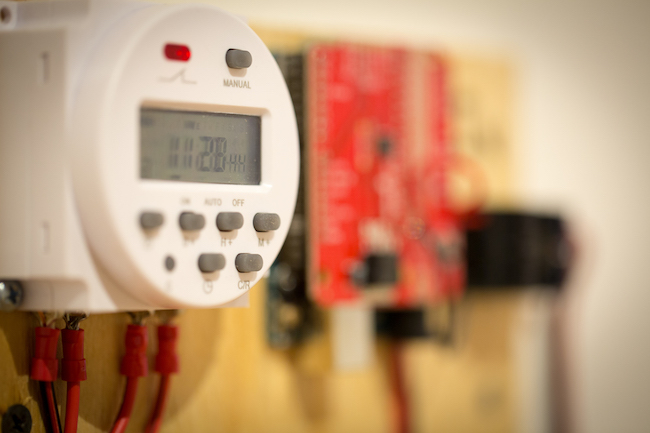 breathing lights control panel technology