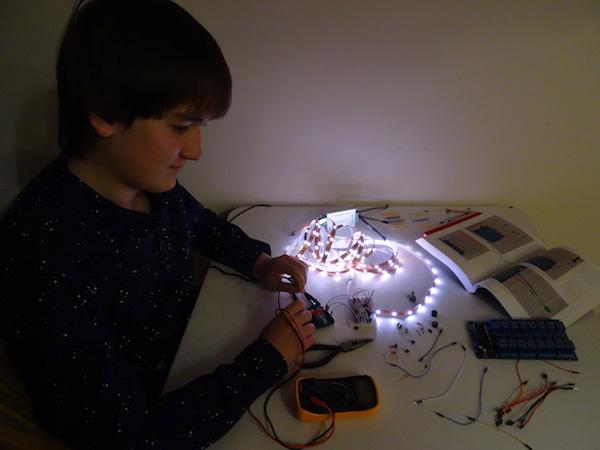 LRC RPI lighting technology breathing lights
